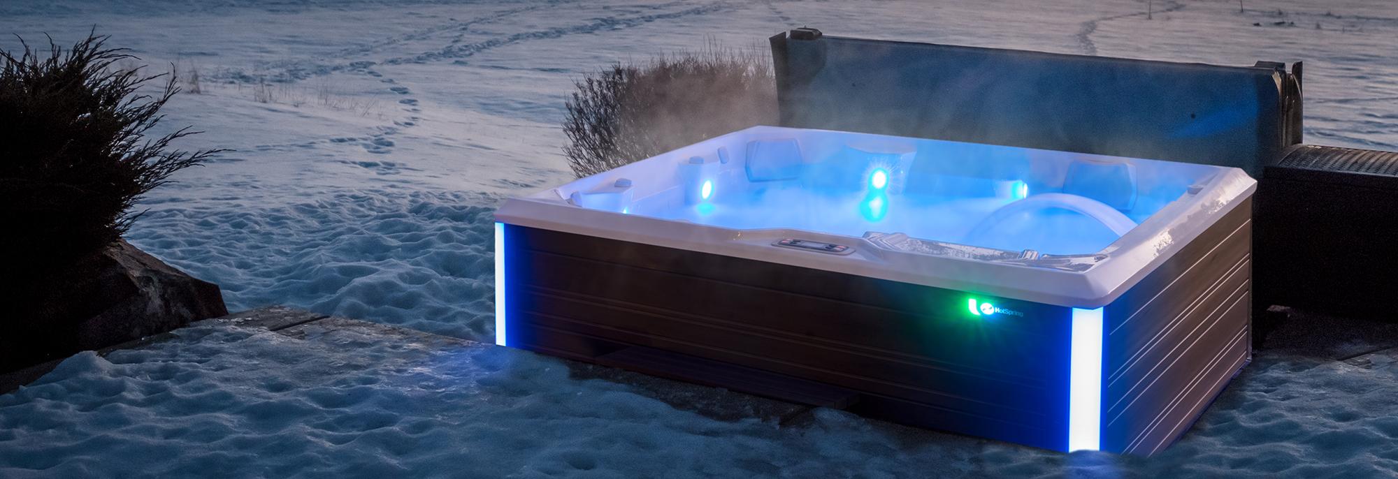 Nauda sveikatai naudojantis masažiniu baseinu žiemą