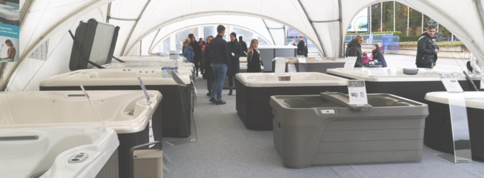 HOT TUBE EXPO masažinių baseinų paroda